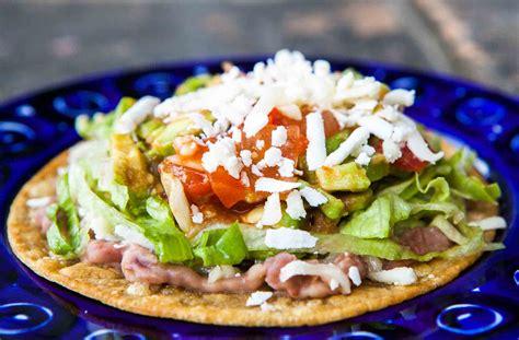 authentic mexican tostada recipe simplyrecipescom