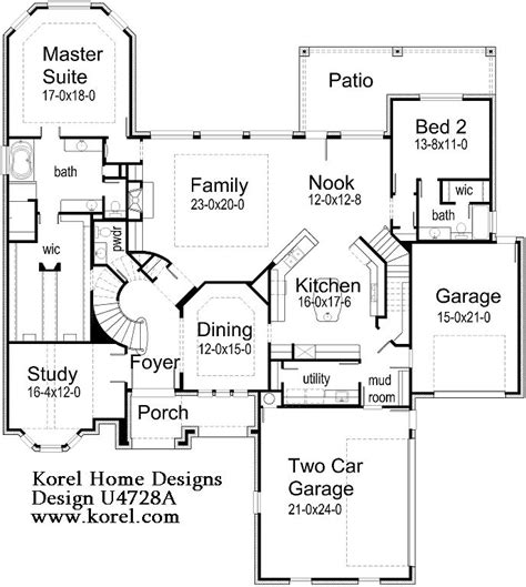 17 Best Images About Floor Plans On Pinterest Luxury Korel House Plans