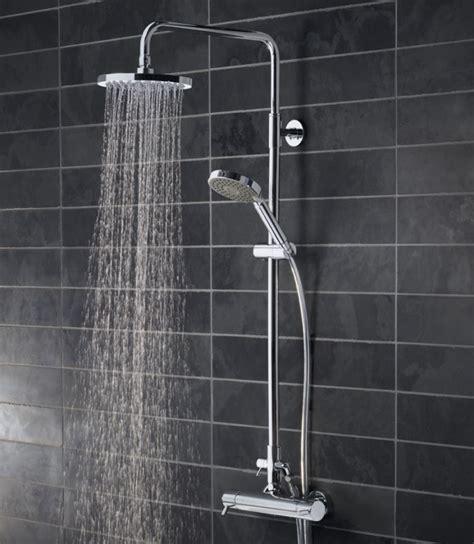 Shower Bath Diverter kinetic bar valve shower system with fixed shower head
