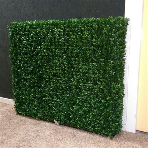 tuin hek metaal 30 cm hoog kunst buxus haag 95cm breed en 63cm hoog boxwood hedge