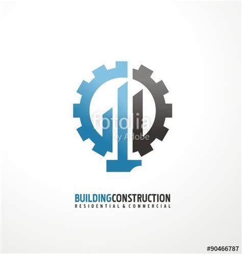 free logo design engineering quot building construction and engineering logo design concept