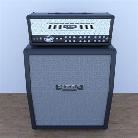 Mesa Cabinet by Mesa Boogie Guitar Cabinet 3d Model Obj Fbx Cgtrader