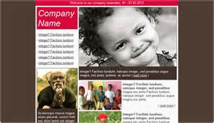 charity newsletter template charity email newsletter templates email newsletter