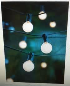 Patio Lights Indoor 25 White Globe G40 Rv Indoor Outdoor Patio Wedding
