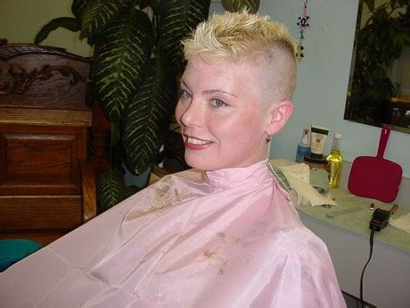 clipper happy women women with barber cuts short hairstyle 2013