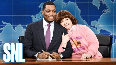 michael che youtube weekend update michael che s stepmom snl youtube