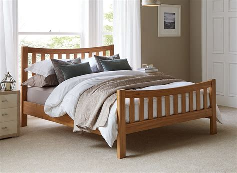 Dreams Bedroom Furniture Sherwood Oak Wooden Bed Frame