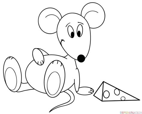 Mickey Mouse Christmas Crafts - how to draw cartoon mouse step by step drawing tutorials