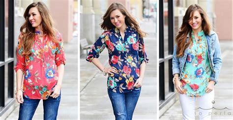 Best Seller Monna Jumbo Blouse best selling large floral print blouse