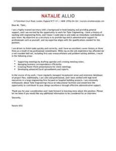 administration covering letter template amp examples