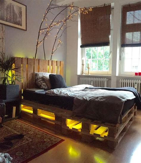 bed with pallets pallet beds ideas pallet ideapallet idea