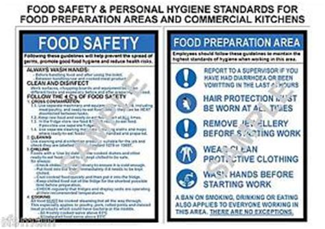 kitchen safety dummies health safety 2 a4 laminated commercial kitchen signs food