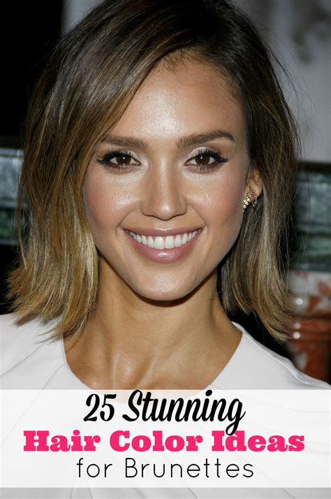 hair color for brunettes 25 stunning hair color ideas for brunettes fabulous