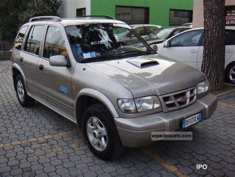 4wd Kia Sportage 2000 Kia Sportage 4wd Td Car Photo And Specs