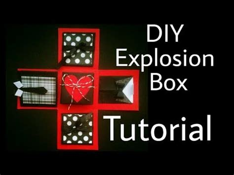 explosion box tutorial youtube explosion box tutorial diy anniversary valentine s