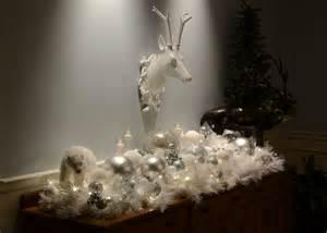 How To Make Winter Wonderland Decorations - decorating a white winter wonderland by lita r lane