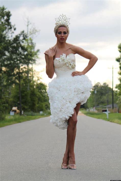 toilet paper wedding dresses alldaychic