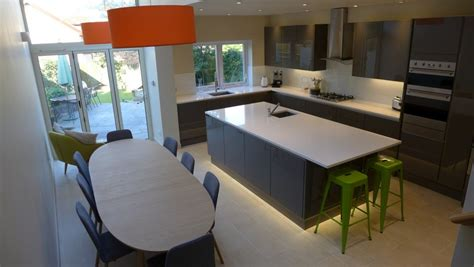 contemporary kitchen diner cost of a new kitchen style within