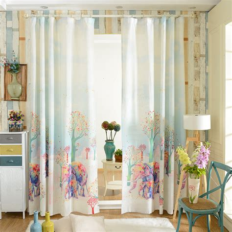 elephant window curtains online buy wholesale elephant curtains from china elephant
