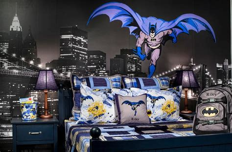 superhero wallpaper for bedroom batman bedding and bedroom d 233 cor ideas for your little