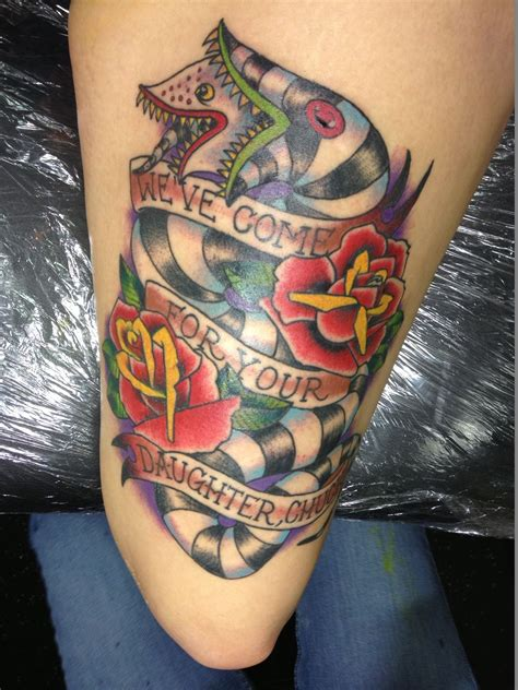 beetlejuice tattoo beetlejuice awesome tattoos tattoos