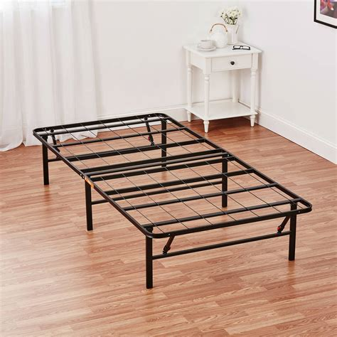 new mainstays innovative metal platform adjustable base bed frame sizes