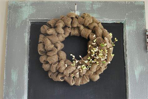 how to make a wreath with burlap spring wreath a gathering place