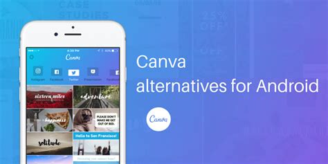 Canva On Android | 5 best canva app alternatives for android