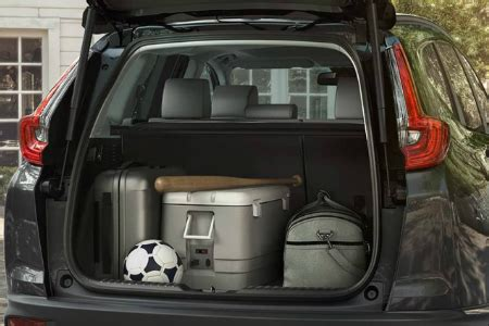 how much cargo space does the 2018 honda cr v have?