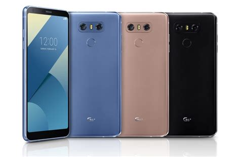 Lg G6 New Segel Black lg g6 arrives with 6gb ram 2 new colors and 128gb storage