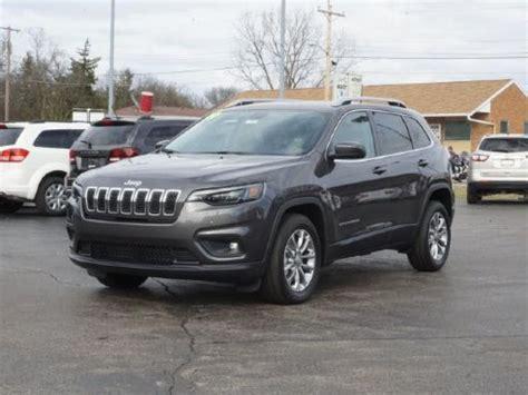 2019 jeep cherokee latitude plus for sale, muncie in, 3.2