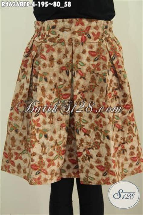Rok Batik Mini rok klok batik mini yang fashionable furing bawahan