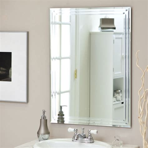 framed bathroom mirrors bathroom mirror idea framing an