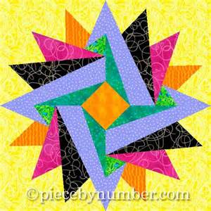 indian summer paper by piecebynumber quilting pattern