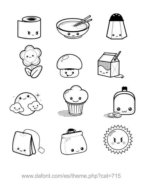 comida kawaii para colorear dibujos kawaii para colorear buscar con google dibujo