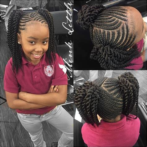 braid hairstyles for black women with a little gray 1501 best kids hair styles images on pinterest