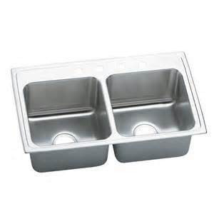 elkay dlr3319100 lustertone bowl basin kitchen