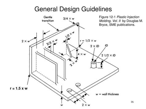 general layout guidelines ppt injection molded part design an introduction