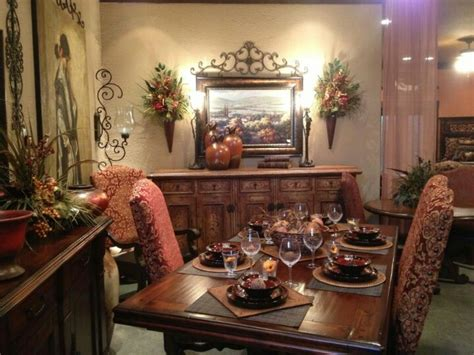 tuscan dining rooms tuscan dining room floral and tapestry dining room