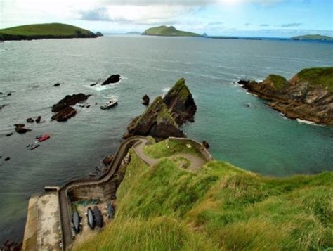boat trip to ireland boat trip to the blaskets kerry ireland dunquin pier