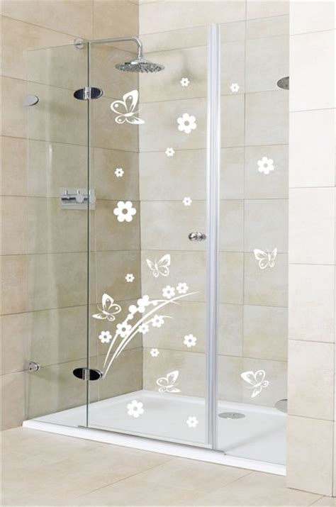 Shower Door Decals by Shower Door Vinyl Decal 2 Eclectic Wall Decals By