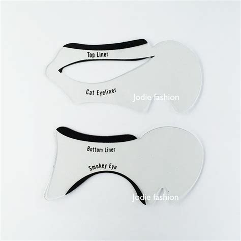 cat eye template printable cat eye makeup stencil mugeek vidalondon