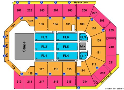 citizen bank arena seating chart citizens business bank arena ca seating chart end stage