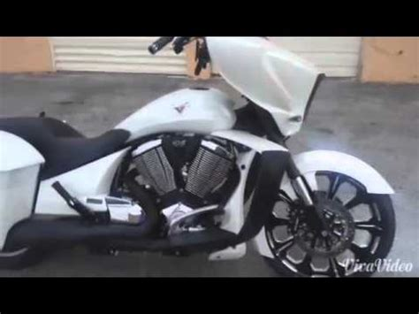Victory Motorrad Youtube by Black Jack Choppers Inc Victory Bagger Youtube