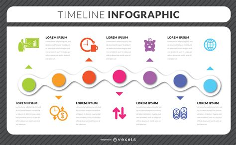 Timeline Infographic Template Timeline Infographic Template Vector Download