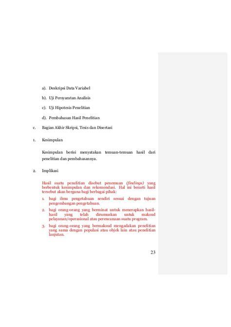 bagian tesis adalah panduan penulisan skripsi tesis
