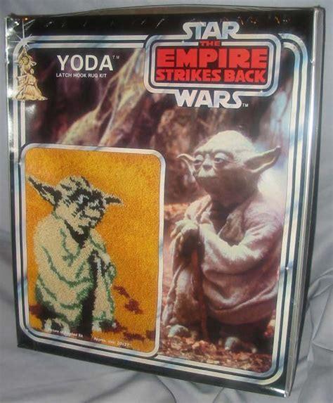 wars latch hook rug kits yoda latch hook rug kit wars collectors archive