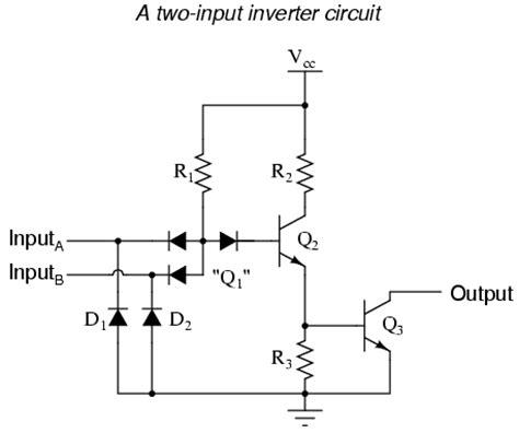 ttl integrated circuit logic ttl nand and and gates logic gates electronics textbook