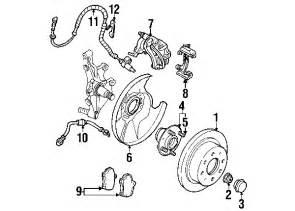 2003 Kia Spectra Brake System Diagram 2003 Kia Spectra Parts Kia Parts Center Call 800 926