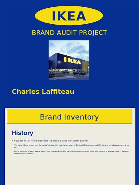 With Mba In Marketing Brand Management by Ikea Mba Brand Marketing Study Docshare Tips